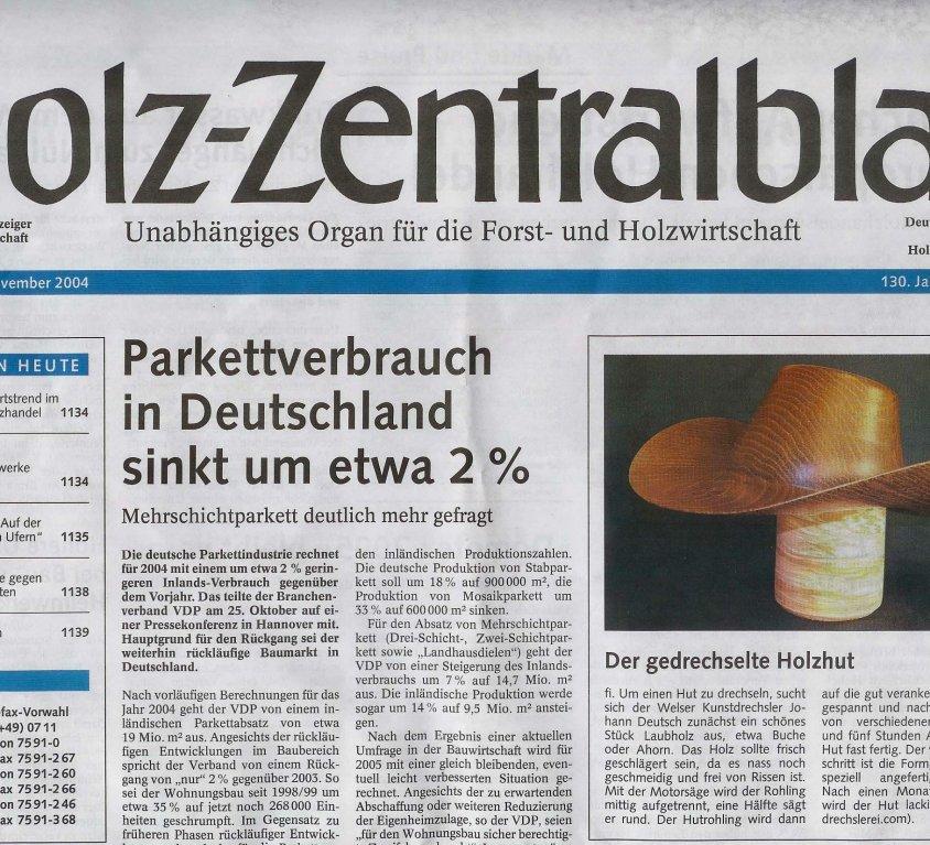 Holz Zentralblatt