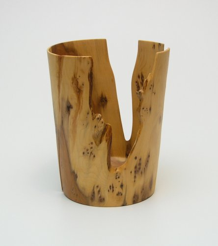 Objekt Naturrand Holzschale