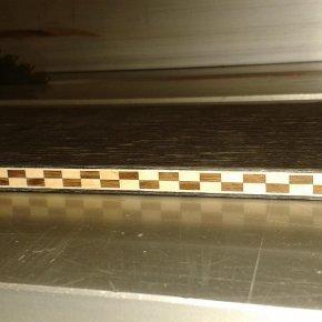 Holz Bordüren Platte